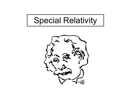 Special Relativity. Classical Newtonian Mechanics – its limitations At the beginning of the 20 th century, the only theory of motion was that of Newton,