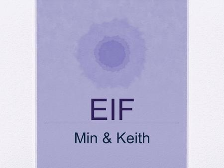 EIF Min & Keith. Target Students Age / level of students: 5 th grade public school after school in Korea Time: 45 min Target Language: ingredients, directions,