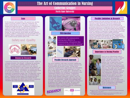RESEARCH POSTER PRESENTATION DESIGN © 2012 www.PosterPresentations.com QUICK START (cont.) How to change the template color theme You can easily change.