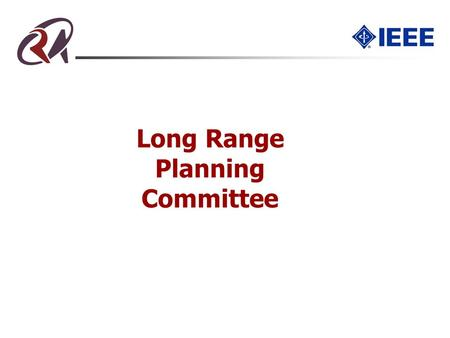 Long Range Planning Committee. Outline Issues being studied Society structure Conference improvement Electronic Services Role/Responsibility Descriptions/Commitments.