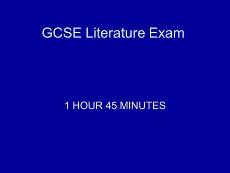 1 hour exam essay Approximately how long should an exam essay be, if you have three essays to write in a three hour exam i know there isn't an exact requirement, but more o.