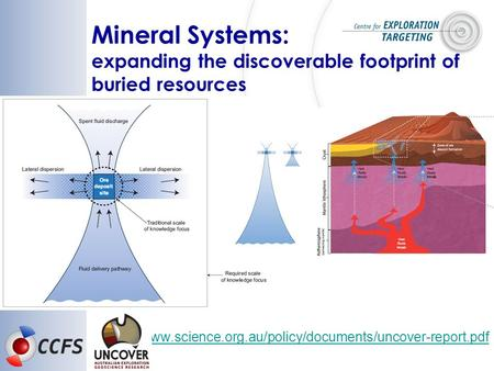 Www.science.org.au/policy/documents/uncover-report.pdf Mineral Systems: expanding the discoverable footprint of buried resources.