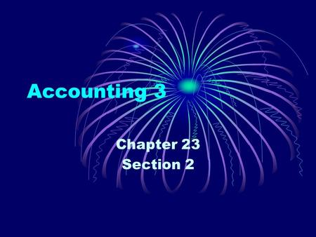 Accounting 3 Chapter 23 Section 2. Signing a Note Payable Current Liabilities – Liabilities due within a short time, usually within a year. Notes Payable.