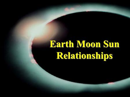Earth Moon Sun Relationships. Rotation versus Revolution RotationRotation is the turning of a body about an axis. –The earth rotates once every 24 hours.
