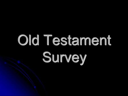 Old Testament Survey. 1st Samuel Youngest son of Jesse and great grandson of Ruth and Boaz (Ruth 4:17) A shepherd (16:11; 17:15,34) A man who followed.