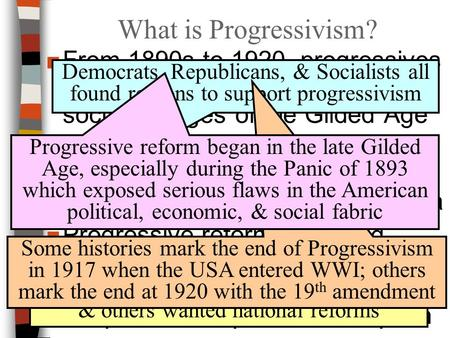 an introduction to the history of progressivism in the united states The answers given in this answer key for glencoe's new york regents review series—united states history and government are organized by unit answers to thematic essays and document-based questions represent accept.