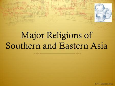 great religions of eastern asia The southern portion includes south asia, south-east asia and east asia  asia  is home to the great religions of the world such as hinduism, buddhism,.