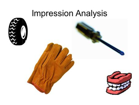 an introduction to the analysis of first impressions Whether it's a job interview, a first date, or simply an introduction to a friend of a friend, first impressions are incredibly powerful and they can be nearly impossible to reverse.