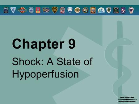 Chapter 9 Shock: A State of Hypoperfusion. © 2005 by Thomson Delmar Learning,a part of The Thomson Corporation. All Rights Reserved 2 Overview  Hypoperfusion.