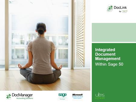 Integrated Document Management Within Sage 50. Features Automatically digitise and attach all types of documents to records in Sage 50, including: –purchase.