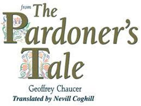 What is a Pardoner? A person licensed to sell papal pardons or indulgences. They took indulgences, money, from the people which would then act as repayment.