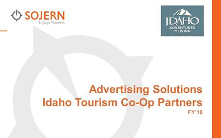 Advertising Solutions Idaho Tourism Co-Op Partners FY'16.