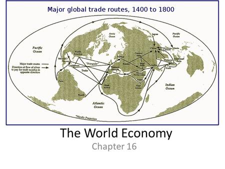 The World Economy Chapter 16.