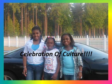 Celebration Of Culture!!!!. Table of Contents!!! 1.Intro 2.Table of Contents 3.Language 4.Ethnic/Racial Background 5.Traditions 6.Life 7.Holidays 8.Housing.