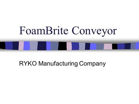 RYKO Manufacturing Company