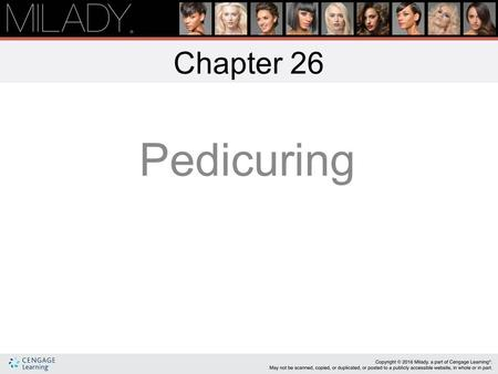 Chapter 26 Pedicuring.