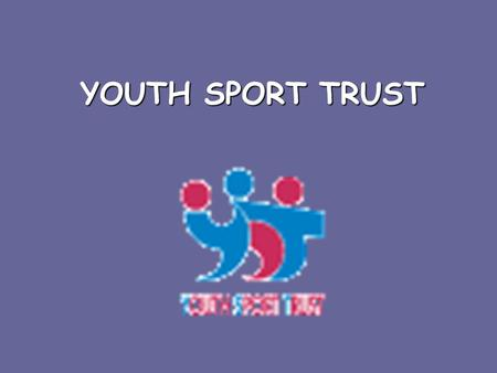 YOUTH SPORT TRUST. A Charity Based at Loughborough University Puts the policies of the DfES into practice What?