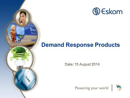 Demand Response Products. Discussion Points 1.Setting the scene….. 2.Virtual Power Station 3.Reserves deployment order 4.Demand Response Products.