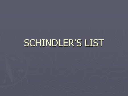 SCHINDLER'S LIST. WEIMER GOVERNMENT STRUGGLES AFTER WWI ► GERMANY SLIDES INTO DEPRESSION AFTER WWI ► HUMILATED BY TREATY OF VERSAILLES ► HAD TO PAY REPARATIONS.