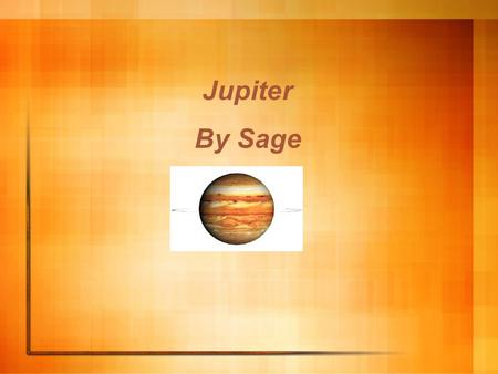 Jupiter By Sage. Jupiter was discovered by Galileo I have not a clue when it was found so find out yourself! Like all planets Jupiter was named after.
