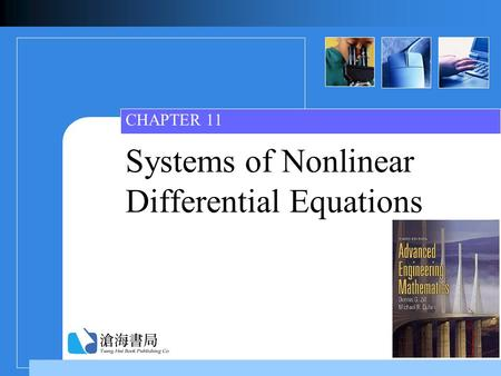 Systems of Nonlinear Differential Equations CHAPTER 11.