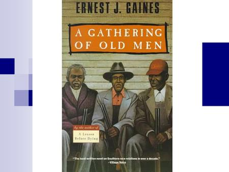 Earnest J. Gaines born in 1933 during the Great Depression in Louisiana  the setting for most of his fiction Son of a sharecropper, Gaines was only a.