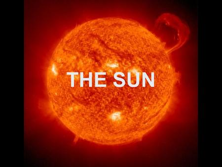 THE SUN. INTERIOR Unlike Earth, the sun does not have a solid surface. The sun is a ball of glowing gas through and through. About 3/4 of the sun's mass.