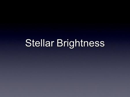 An analysis of the magnitude scale a way of ranking stars by brightness