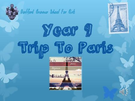 Introduction My task was to organise and plan a trip to Paris for gifted and talented students in Year 9. This trip will be 6 days, 5 nights long I.