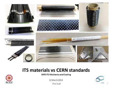 ITS materials vs CERN standards WP9 ITS Mechanics and Cooling Elisa Laudi 12 March 2014 1.
