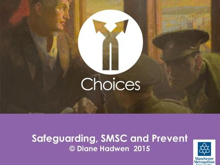 1 Safeguarding, SMSC and Prevent © Diane Hadwen 2015.