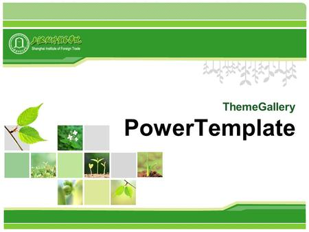 ThemeGallery PowerTemplate. Contents Click to add title in here 4 1 2 3 ThemeGallery is a Design Digital Content & Contents mall developed by Guild Design.