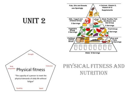 Unit 2 Physical Fitness and Nutrition. Physical Fitness What is Physical Fitness – the ability to carry out daily tasks easily and have enough reserve.