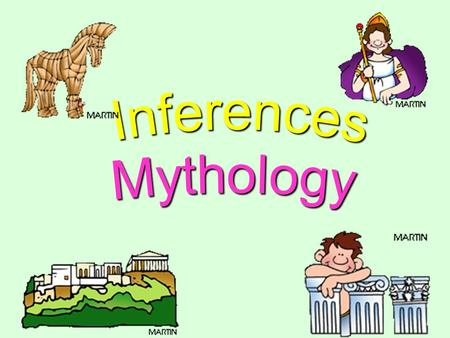 Review What is an inference? Making an educated guess based on your schema and textual clues !