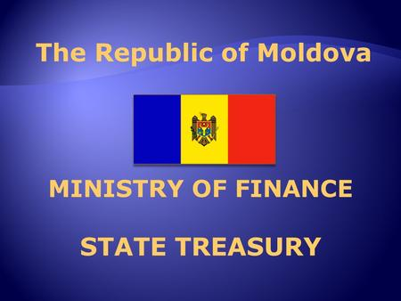 MINISTRY OF FINANCE STATE TREASURY. 2 Management, accounting and reporting of externally financed projects.