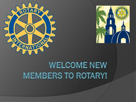 We are hoping to provide you with useful information about Rotary that you can talk about with others. The idea is to be able to spread Rotary's positive.