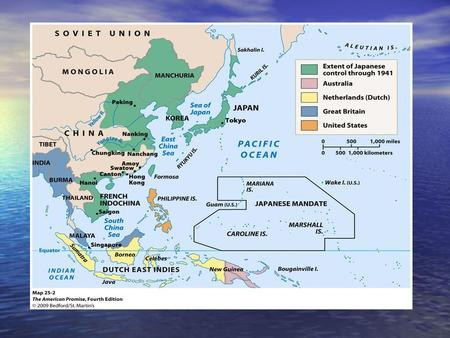 Japanese expansion until 1941 1931, invasion of Manchuria with plans to take southeast Asia 1931, invasion of Manchuria with plans to take southeast Asia.