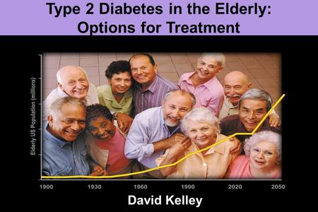 Type 2 Diabetes in the Elderly: Options for Treatment David Kelley.