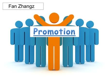 Fan Zhangz. PROMOTION IS ONE OF THE MARKET MIX ELEMENTS. A PROMOTIONAL MIX SPECIFIES HOW MUCH ATTENTION TO PAY TO EACH OF THE FIVE SUBCATEGORIES, AND.