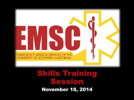 "Skills Training Session November 18, 2014. Agenda Sean add in ""cheat sheets"""