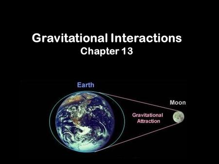 Gravitational Interactions