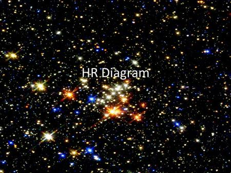 HR Diagram. Characteristics of Stars  Temperature/Color  Mass  Luminosity Absolute Magnitude Apparent Magnitude.