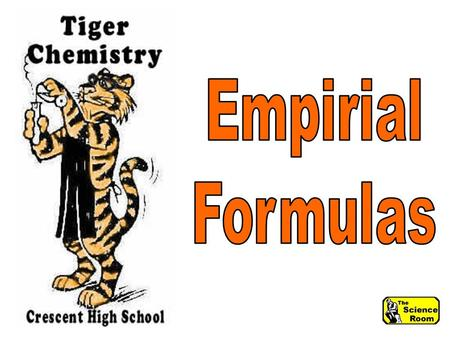 Empirical Formula The simplest formula that represents the whole number ratio between the elements in a compound.