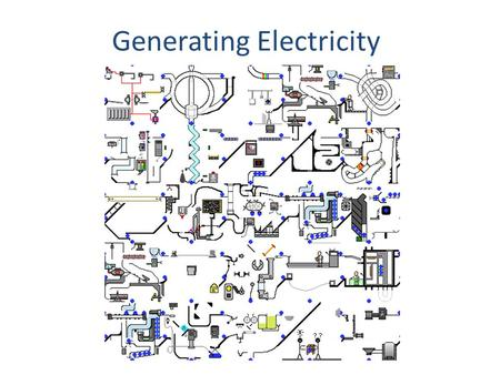 Generating Electricity. What Is Energy? Energy has many different forms. When an object is able to change its environment, we say the object has energy.