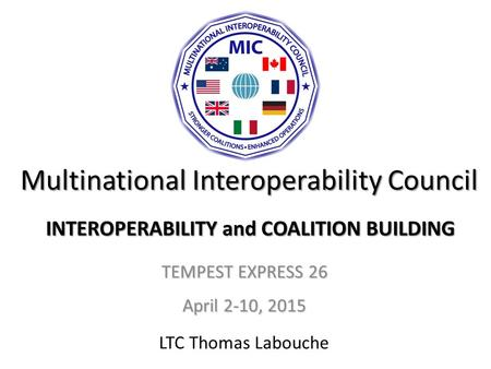 Multinational Interoperability Council