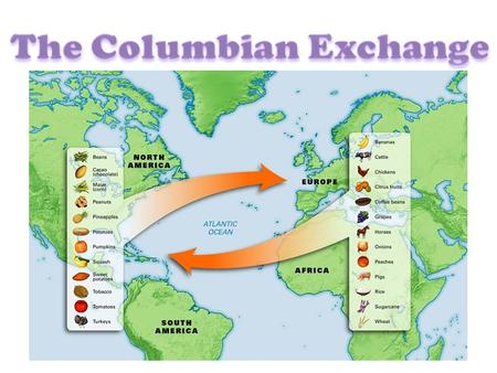 a review of the columbian exchange On a north american continent controlled by american indians, contact among the peoples of europe, the americas, and west africa created a new world.
