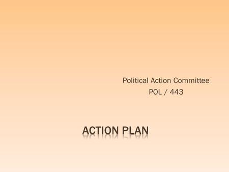 Political Action Committee POL / 443.  CAFE (Corporate Average Fuel Economy) Act, 1975  EIS (Energy Independence and Security) Act, 2007.