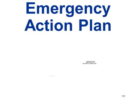 Emergency Action Plan. Emergency Escape Procedures And Escape