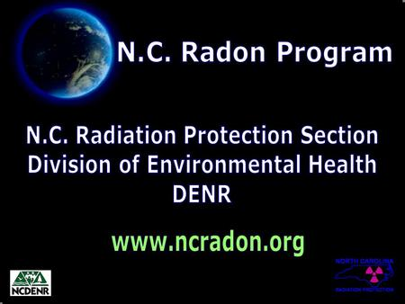 Take in a Deep Breath! Blow It Out!!! Typical Annual Radiation Exposure... 360 mrem/yr.