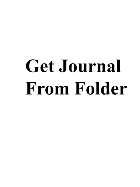 Get Journal From Folder. Journal – 6 9/24/09 Southern Colonies Virginia Founder/Leader: Year Settled/Town(s): Political: Religious: Resources: Economy: